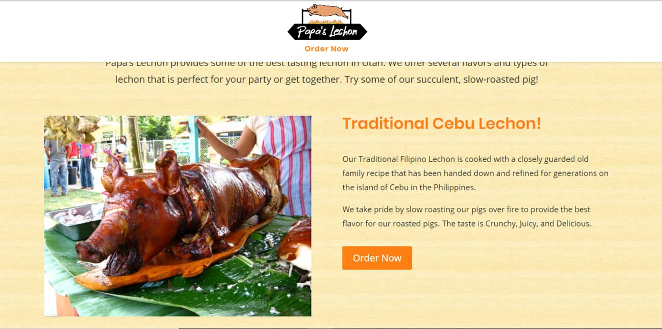 Papas Lechon Product