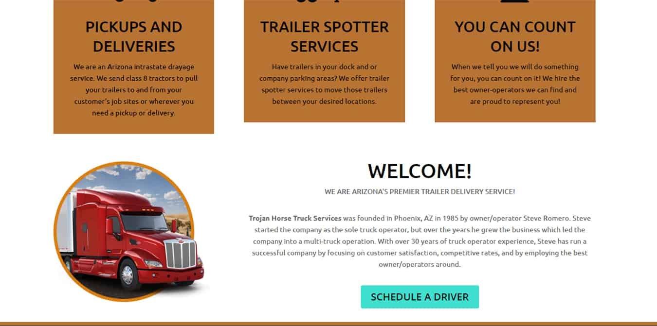 Trojan Horse Truck Services