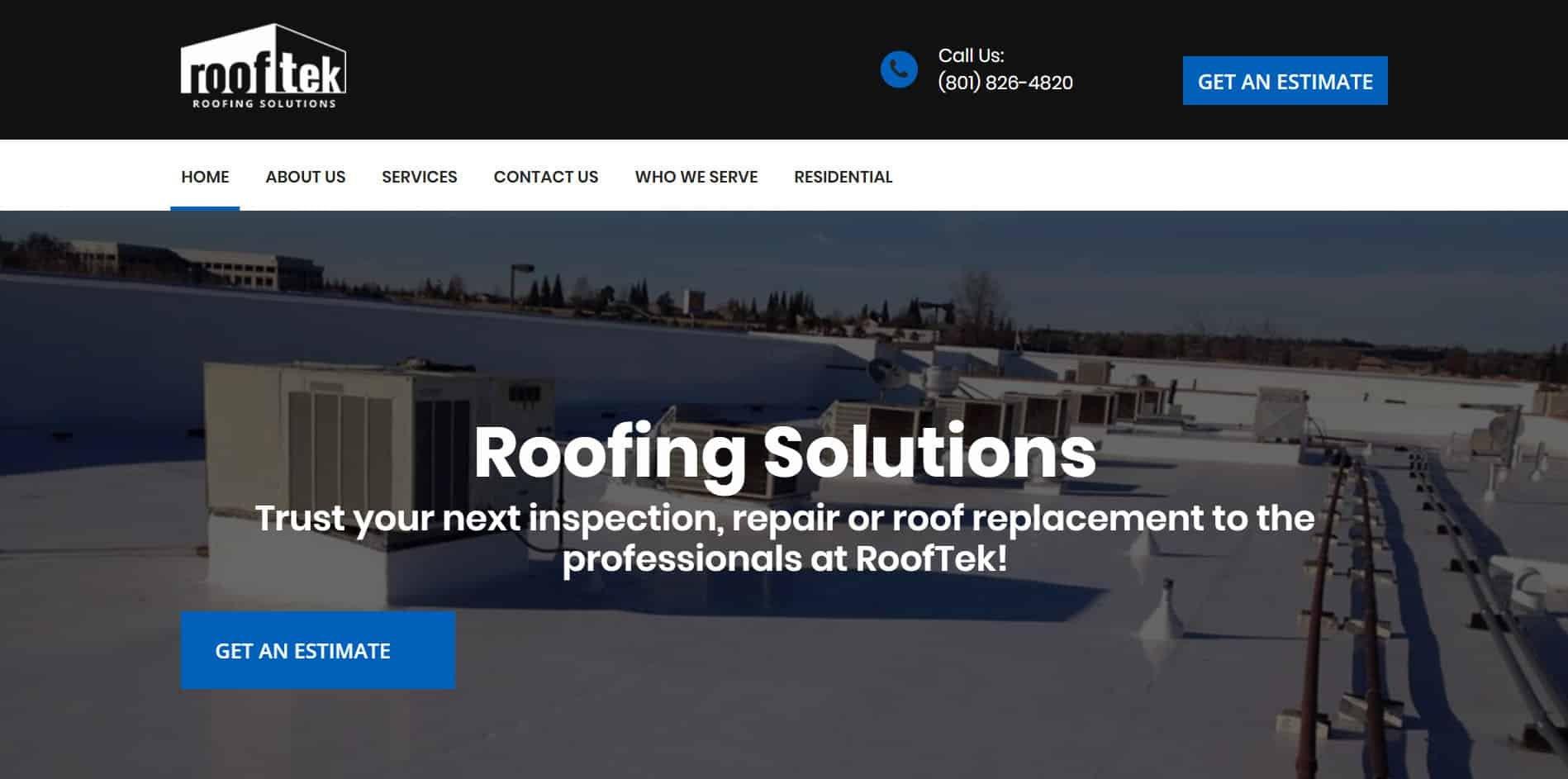 RoofTek Utah